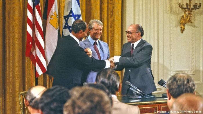 40 χρόνια από τη Συμφωνία Ειρήνης του Καμπ Ντέιβιντ