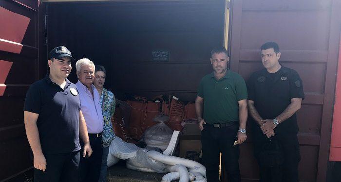 Αντιρρυπαντικός εξοπλισμός για ενδεχόμενη θαλάσσια ρύπανση σε Αμμουδάρα και Αγία Πελαγία
