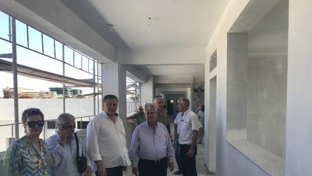 Προχωρά με ταχείς ρυθμούς η κατασκευή του νέου Δημοτικού Σχολείου Γαζίου