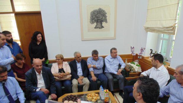 ΒΟΑΚ και μεγάλα έργα της Κρήτης στη συνάντηση Χαρίτση – Αρναουτάκη