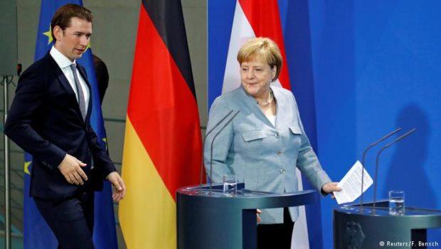 Ενίσχυση της Frontex ζητούν Μέρκελ και Κουρτς