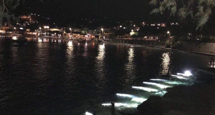 Η Αγία Πελαγία τη νύχτα – Ακόμα πιο όμορφη και ατμοσφαιρική